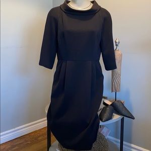 Retro Michael Kors black dress